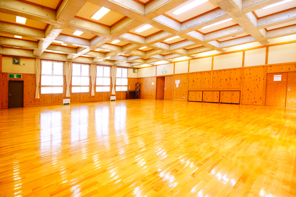 三田市心道会館 1階剣道場